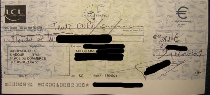 chèque activité caf